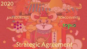 采购对接如何更高效:TOPCO与LIKE SOURCING 联手打造 虚拟线上展览