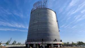 【项目建设】滨州LNG项目LNG储罐提前10天安全落地