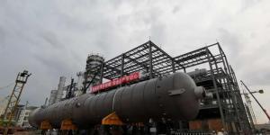 东华科技广西华谊乙二醇装置项目大件设备陆续进场