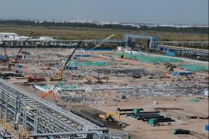 英威达中国己二腈项目已进入全面施工阶段