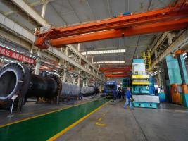 兰石重装公司多批产品陆续完工