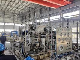 杭汽轮浙江石化二期项目首台汽轮机单机试车完成