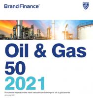 整体缩水严重!2021全球油气品牌价值50强出炉!