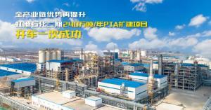 全产业链优势再提升  虹港石化二期240万吨/年PTA扩建项目正式投产