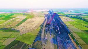 捷报!孟加拉单点系泊项目南部线路主体管道焊接完成