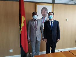 杜永生拜会安哥拉石油部国务秘书