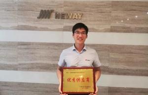"""纽威阀门荣膺中石化上海工程有限公司""""2020年度优秀供应商"""""""