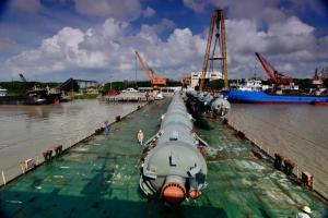 扬帆出海,公司交付俄罗斯AGCC项目四台塔器