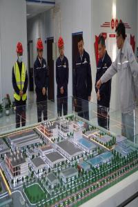 郭贵和到中化学东华天业PBAT项目调研指导工作