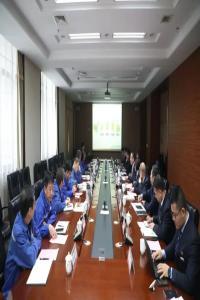 陕鼓集团党委副书记、总经理刘金平一行赴延长石油炼化公司拜访交流