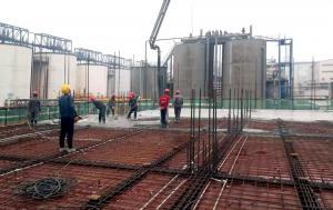鲁北化工150万吨/年氢氧化铝项目建设进度过半